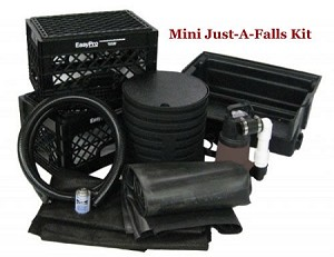 EasyPro Mini Just-A-Falls Pondless Waterfall Kit with 3ft stream JAF9E