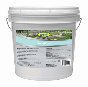 Pond-Vive Bacteria X 20ct. 8oz Water Soluble Packs 10Lb Pail