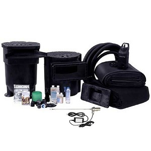 Savio 3000 Gallon Complete Pond Kit Package 16' x 21' with 50 Watt UV