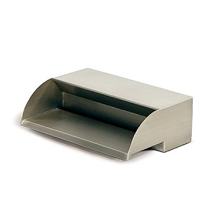"Atlantic 12"" 304 Stainless Steel Scupper Waterfall Spillway 1200 GPH"