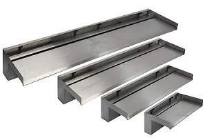 "EasyPro Stainless Steel Vianti Falls 23.5"" Spillway SSS623 with 6"" Lip"